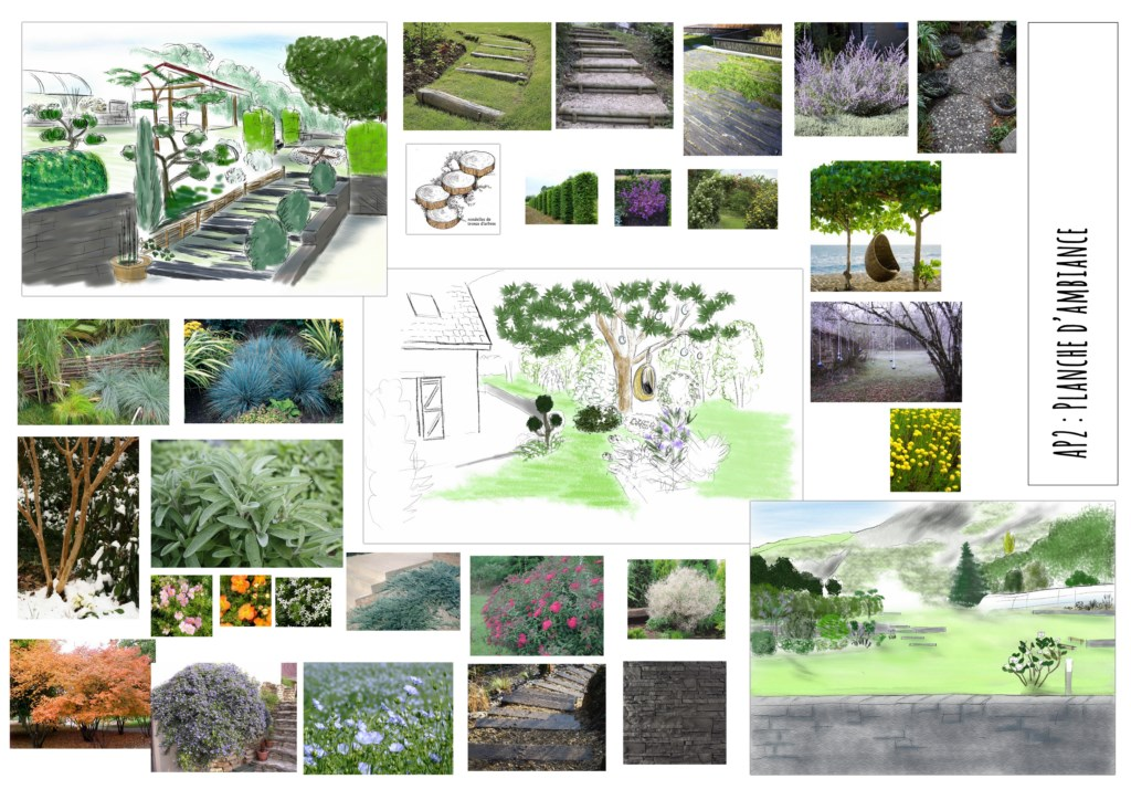D co jardin en terrasse en pente caen 28 jardin potager a louer jardin japonais hasselt - Bassin plantes oxygenantes besancon ...